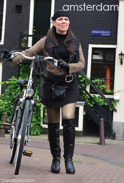 CarouLLou.com Carou LLou in Amsterdam Netherlands  bycicle +chic-