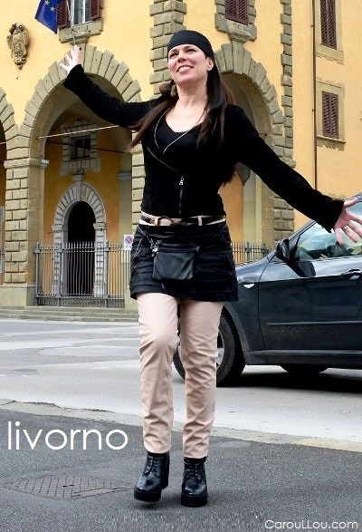CarouLLou.com Carou LLou in Livorno Italy Travel street style+chic fashion-